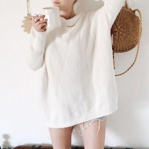 Free People   Oversized Cozy Knit Sweater Dress